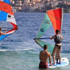 windsurfing course for begginers