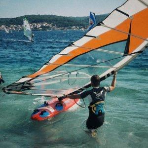 Windsurfing lessons in Croatia