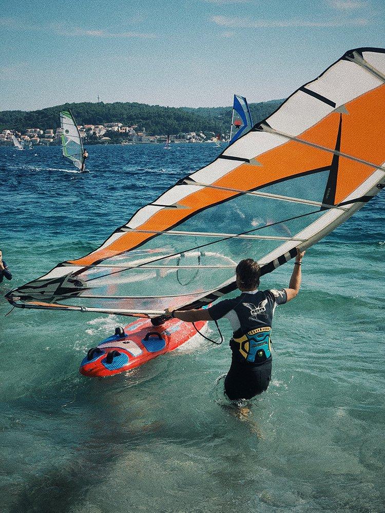 Nauka windsurfingu w Chorwacji